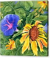 Summer Tango Canvas Print