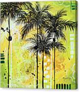 Summer Time In The Tropics By Madart Canvas Print