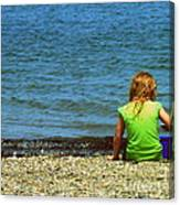 Summer Time On The Coast Of Maine Canvas Print