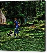 Summer Tyme Spending Money Canvas Print