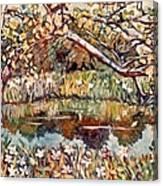 Summer Water Canvas Print