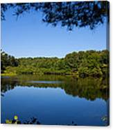 Summers Blue View Canvas Print