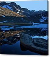 Summit Lake Calm Canvas Print
