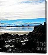 Sumner Beach Canvas Print