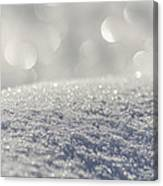 Sun And Snow Canvas Print