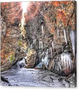 Sun Cave Canvas Print