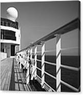 Sun Deck Shadows Canvas Print