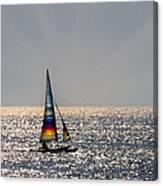Sun Glitter Canvas Print