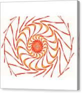 Sun Hat Canvas Print