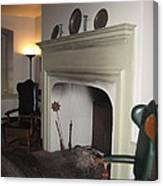 Sun Inn Fireplace Canvas Print