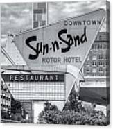 Sun-n-sand Motor Hotel II Canvas Print