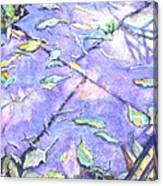 Sun On A Fall Day Canvas Print