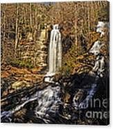 Sun On The Falls Canvas Print