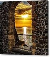 Sun Panorama Canvas Print