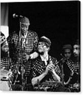 Sun Ra Arkestra With John Gilmore Canvas Print