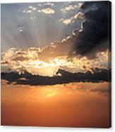 Sun Rays Canvas Print