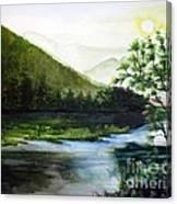 Sun Rise  Canvas Print