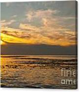 Sun Set Canvas Print