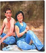 Sun Shulan Canvas Print