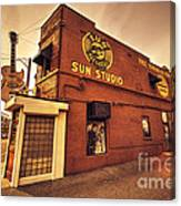 Sun Studios Memphis  Canvas Print