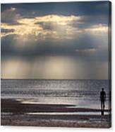 Sun Through The Clouds 2 Canvas Print
