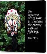 Sun Tzu's The Art Of War Canvas Print