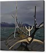 Sun Voyager Reykjavik Canvas Print