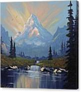 Sunburst Landscape Canvas Print