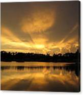 Sunburst Reflection Canvas Print