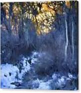 Sundance Aspen Trail Canvas Print