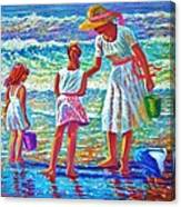Sunday Afternoon At The Beach Canvas Print