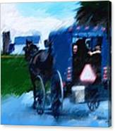 Sunday Buggy Ride Canvas Print