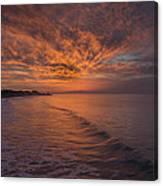 Sunday Daybreak Canvas Print