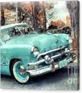 Sunday Drive Canvas Print