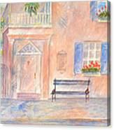 Sunday Morning In Charleston Canvas Print
