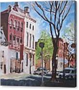 Sunday Morning Williamsport Canvas Print