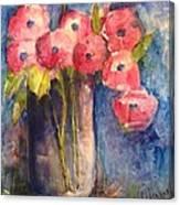 Sunday Painting Canvas Print