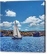 Sunday Sail Canvas Print