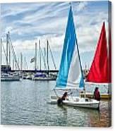Sunday Sailing 2 Canvas Print