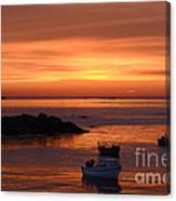 Sundown In Guernsey Canvas Print