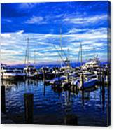 Sundown In Sag Harbor Canvas Print