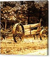 Sundown On The Honey Dew Wagon Canvas Print