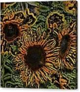 Sunflower 18 Canvas Print