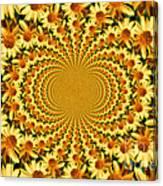 Sunflower Dance Canvas Print