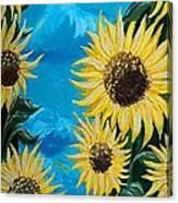 Sunflower Fun Canvas Print