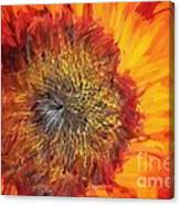 Sunflower Lv Canvas Print