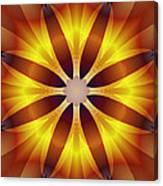 Sunflower Rose Canvas Print