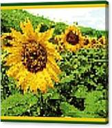 Sunflower Tapestry Canvas Print