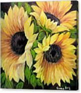 Sunflowers 3 Canvas Print