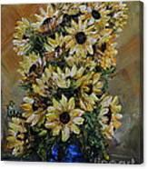 Sunflowers Fantasy Canvas Print